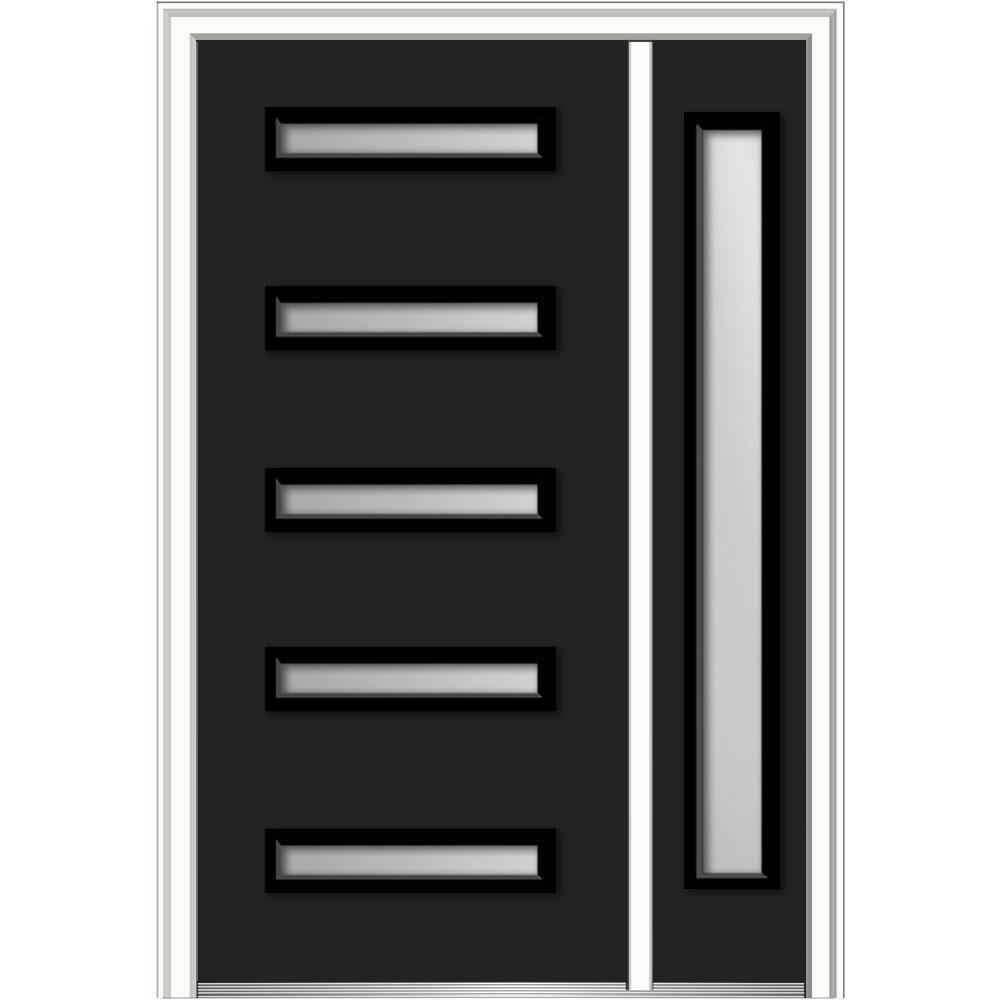Mmi Door 48 In X 80 In Davina Frosted Glass Right Hand Inswing 5