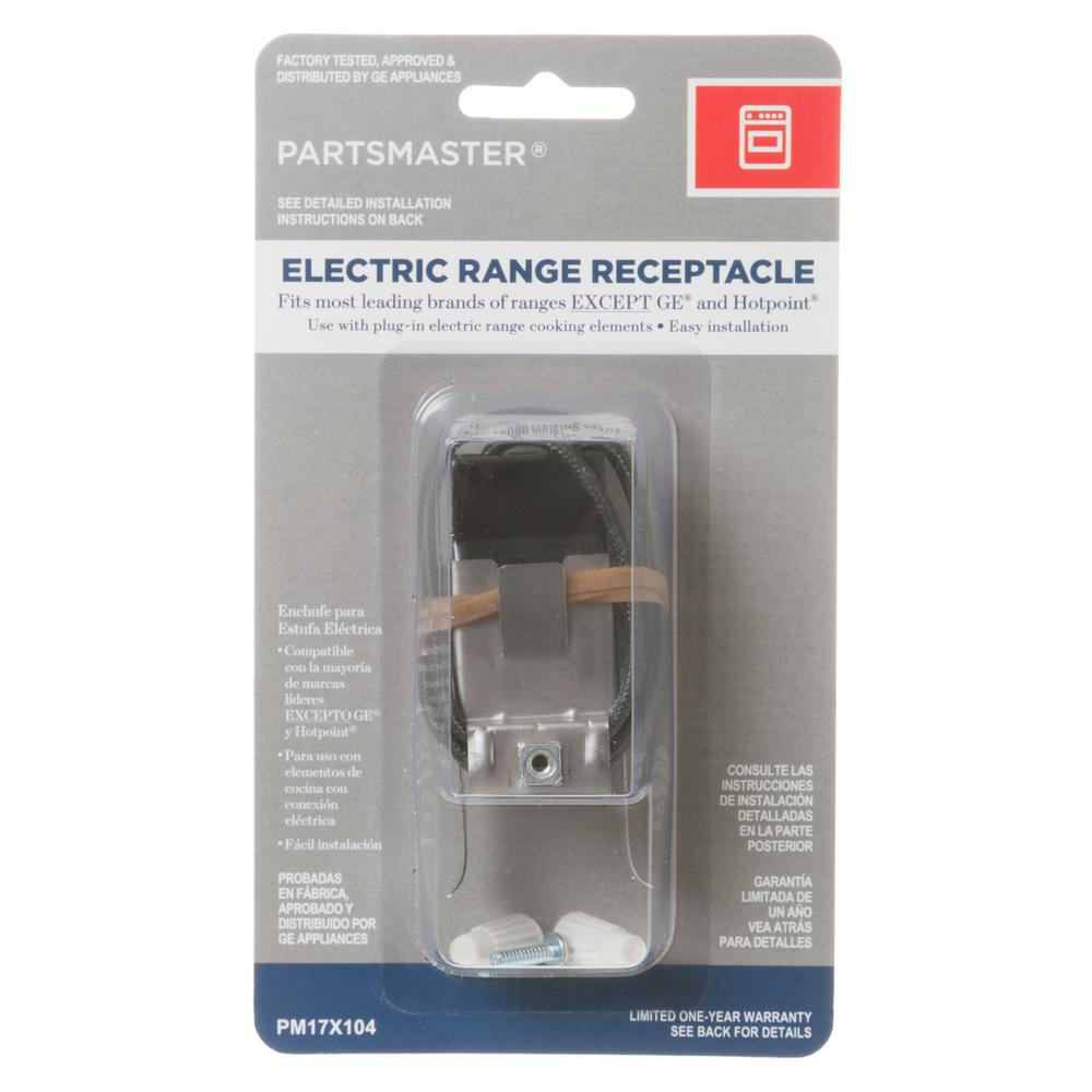 Incredible Partsmaster Range Receptacle Pm17X104Ds The Home Depot Wiring Cloud Usnesfoxcilixyz