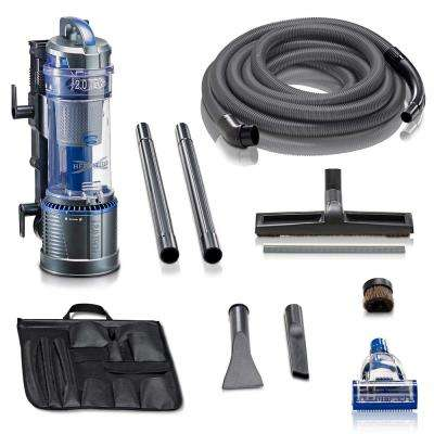 2.0 Wall Mounted Garage Canister Shop Vacuum Cleaner