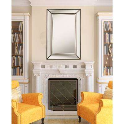 Silvia Square Antique Decorative Wall Mirror