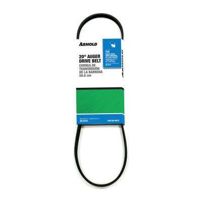 Toro Replacement 20 in. Auger Drive Belt for Single-Stage Snow Throwers