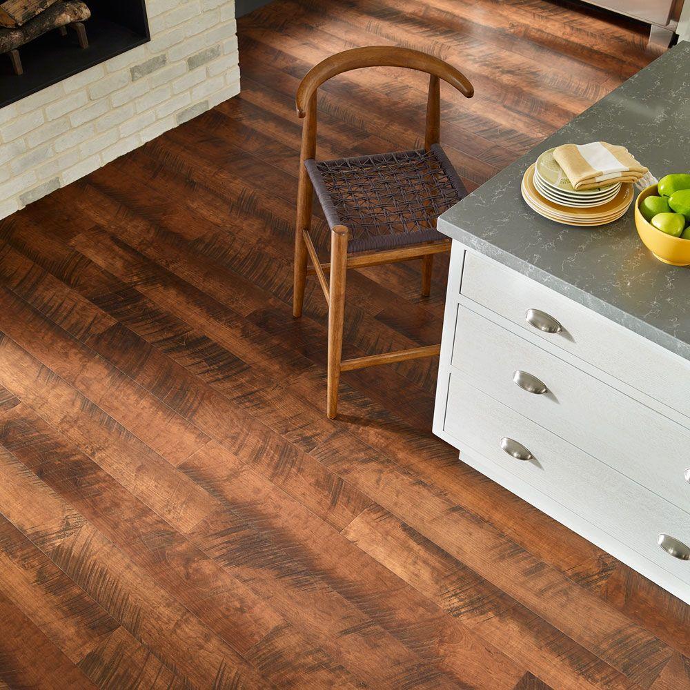 Pergo Outlast 6 14 In W Antique, Pergo Antique Cherry Laminate Flooring