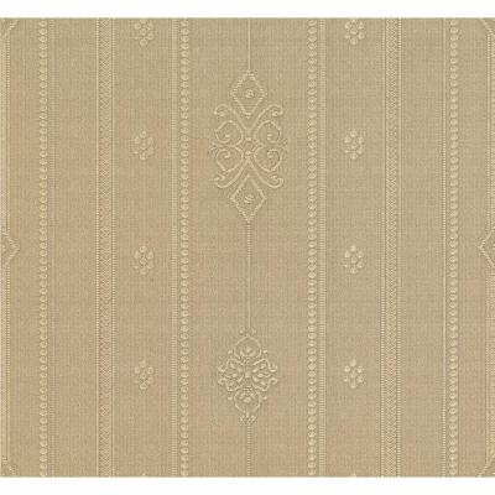 Pasquale Gold Embellished Stripe Wallpaper