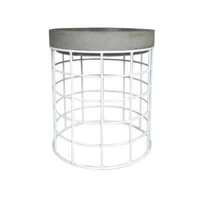 Luna Metal Outdoor Side Table