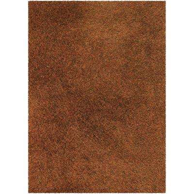 Mai Gold/Orange/Black 5 ft. x 7 ft. 6 in. Indoor Area Rug