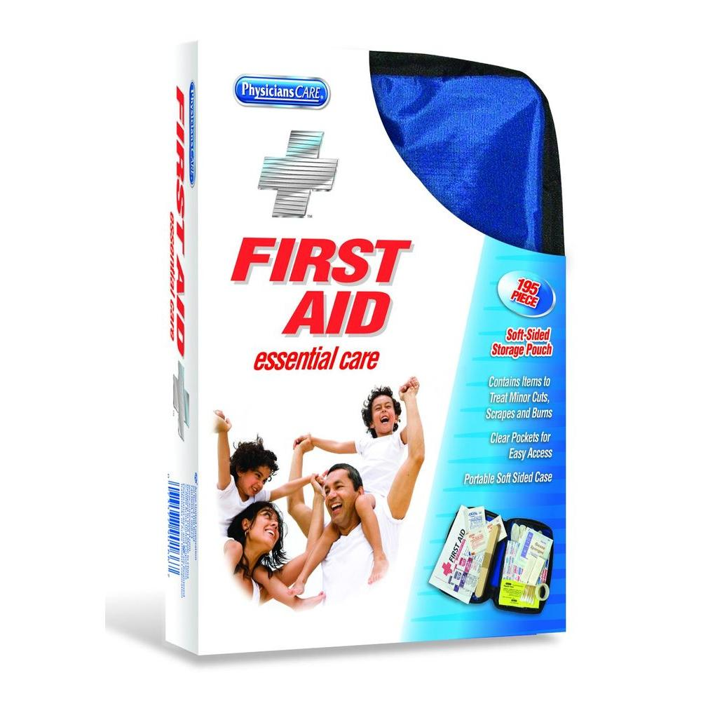 PhysiciansCare 195-Piece All Purpose Soft Sided First Aid Kit
