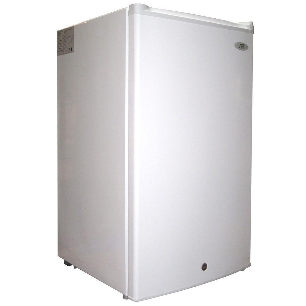 3.0 cu. ft. Upright Freezer in White