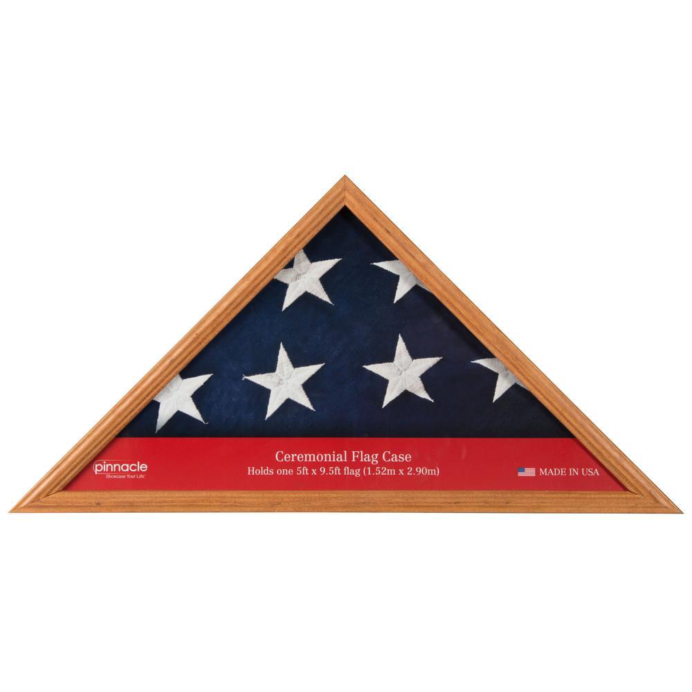 Pinnacle 5 Ft X 95 Ft Flag Display Case Frame 07fw553me The