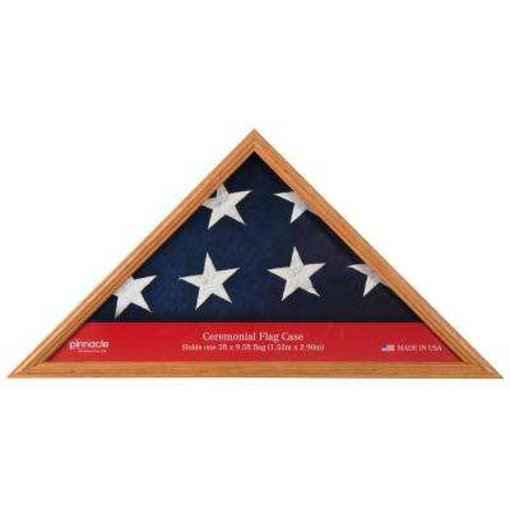 5 ft. x 9.5 ft. Flag Display Case Frame