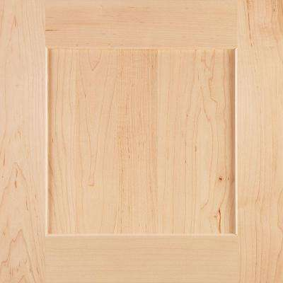 14-9/16x14-1/2 in. Cabinet Door Sample in Reading Maple Natural