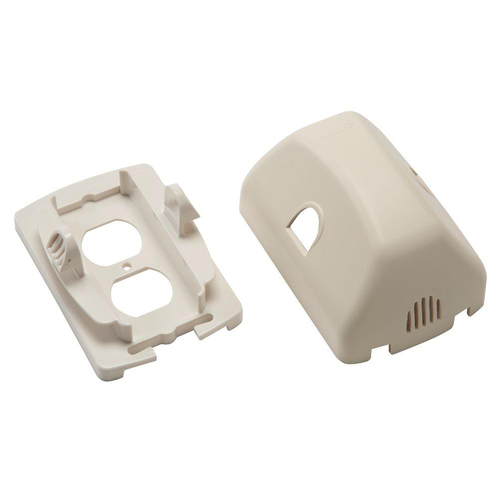 Safety 1st outlet cover with cord shorterner 48308 the home depot sciox Choice Image