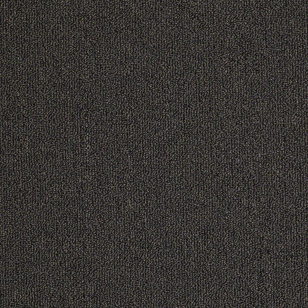Carpet Sample - Soma Lake - In Color Charcoal 8 in. x 8 in.