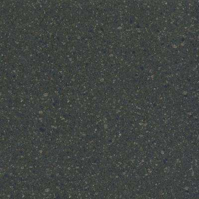 2 in. Solid Surface Countertop Sample in Blue Spice