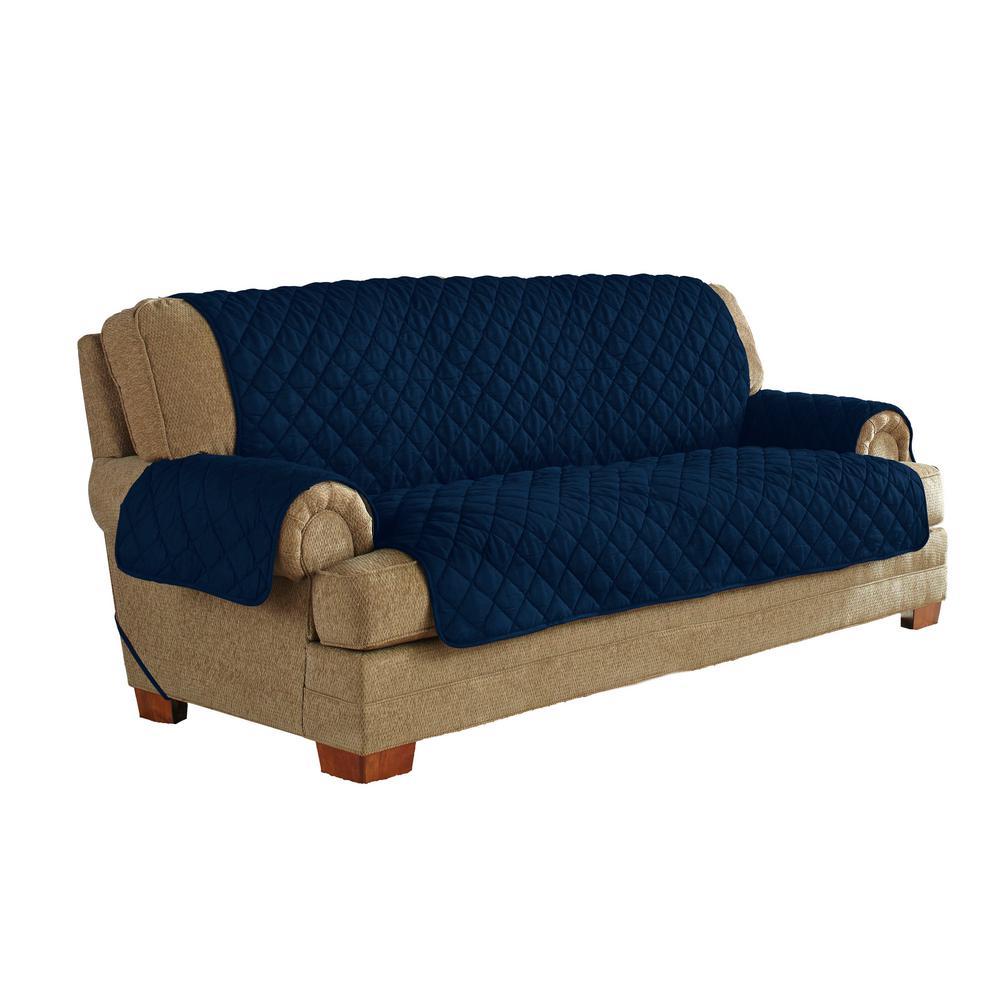 Pleasant Navy Ultimate Waterproof Furniture Protector Treated With Neverwet Sofa Spiritservingveterans Wood Chair Design Ideas Spiritservingveteransorg
