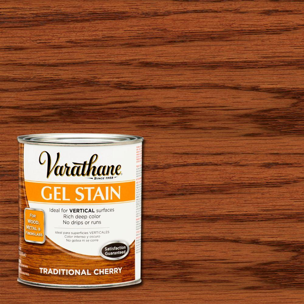 Varathane 1-qt.Traditional Cherry Gel Stain (Case of 2