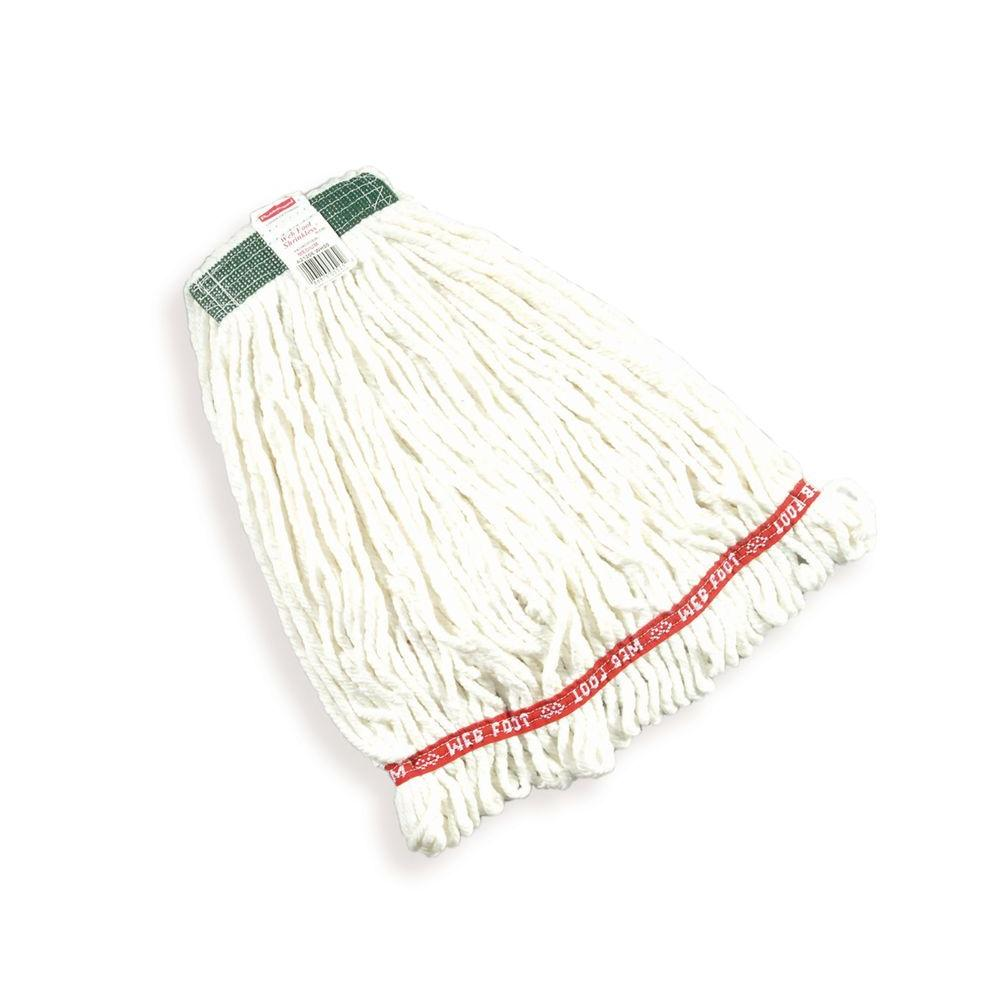 Medium Web Foot Shrinkless Wet Mop with 1 in. Headband (Case