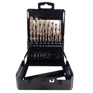 Click here to buy BLU-MOL Xtreme Cobalt Drill Bit Set (21-Piece) by BLU-MOL.
