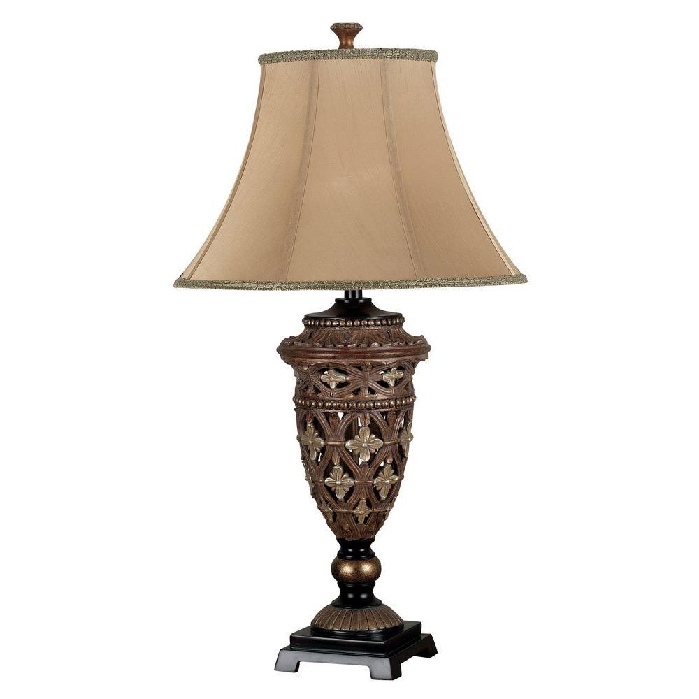 Sophie 35 in. Golden Bronze Table Lamp