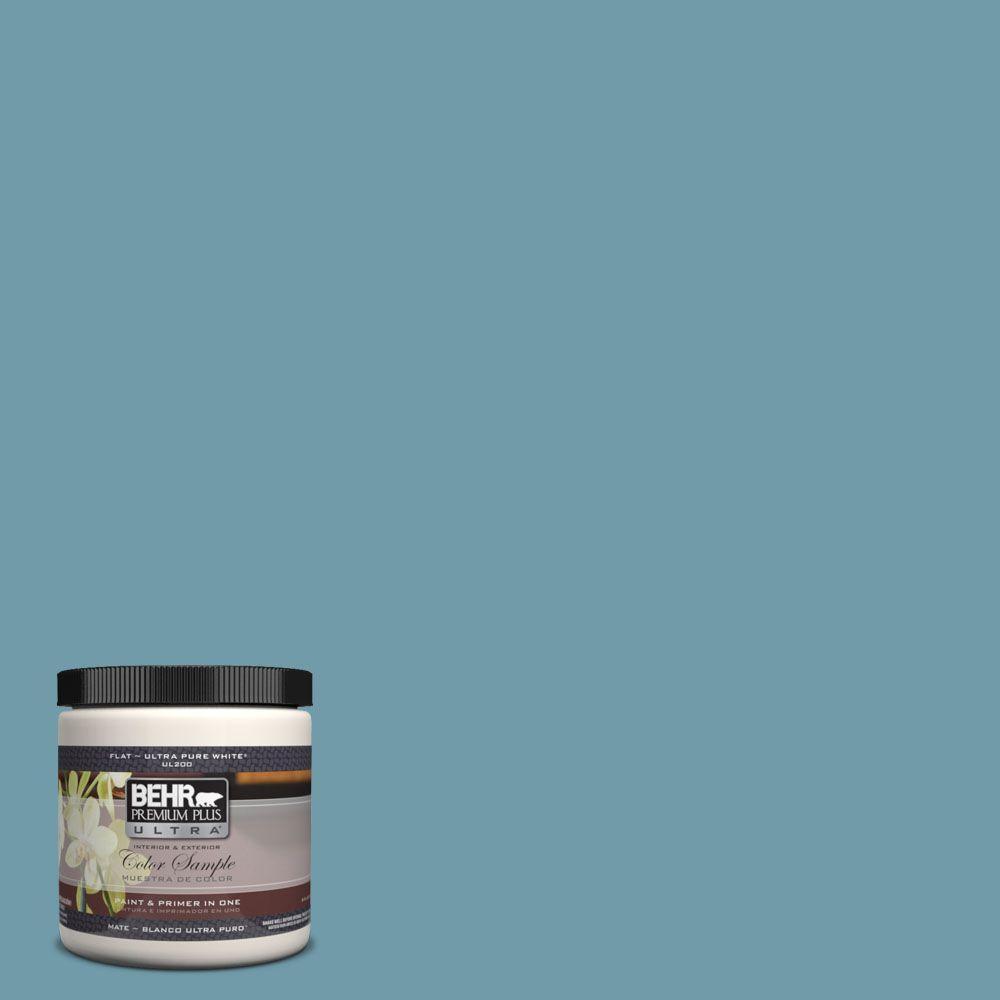 BEHR Premium Plus Ultra 8 oz. #UL220-2 Voyage Interior/Exterior Paint Sample