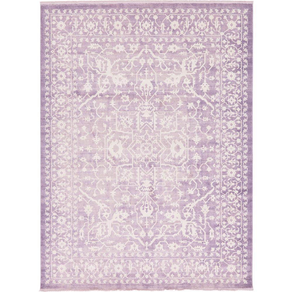 New Classical Purple 10' x 13' Rug