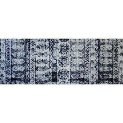 In-Home Washable/Non-Slip Lotus 2 ft. 3 in. x 6 ft. 3 in. Area Rug & Mat