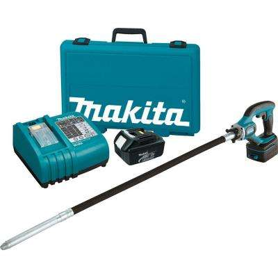 18-Volt LXT Lithium-Ion 4 ft. Cordless Concrete Vibrator Kit