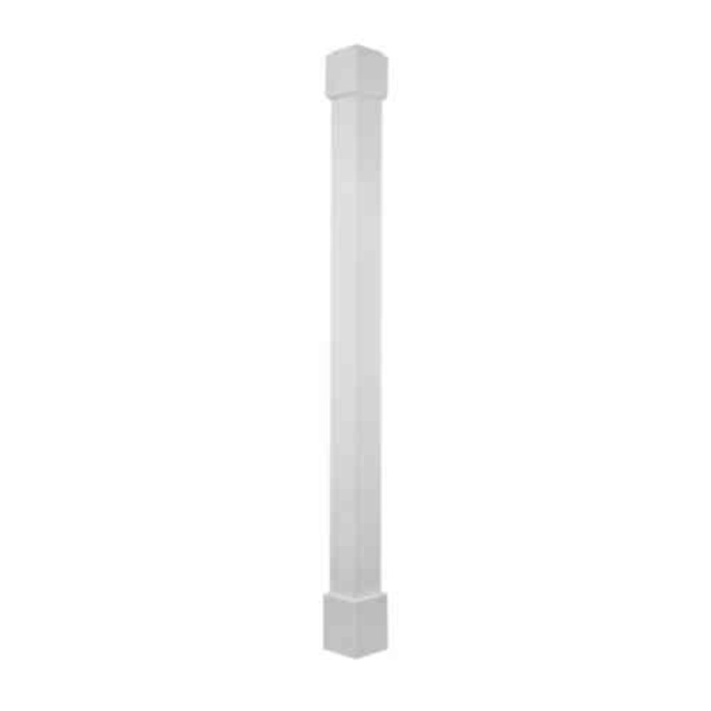 Hb g 6 in x 8 ft square permawrap cpvc column l wrap for Hb g square columns