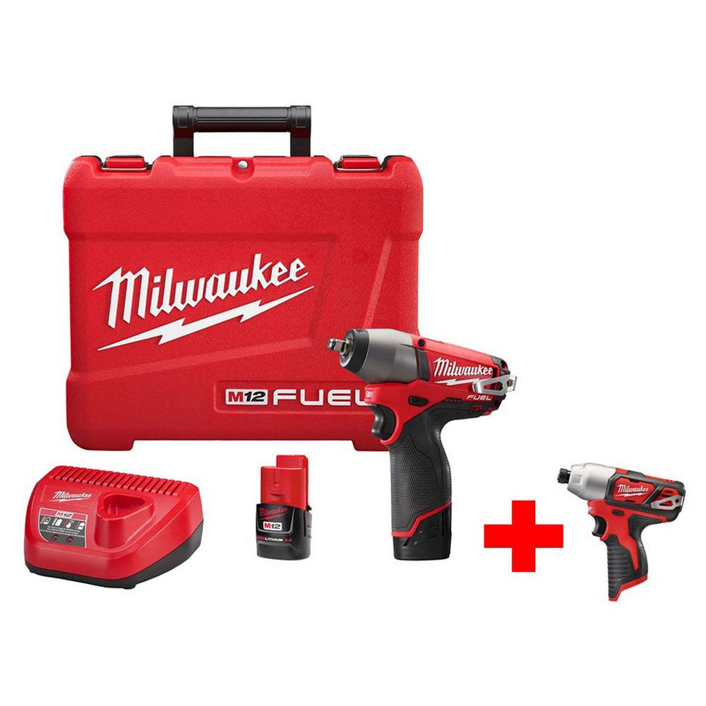 Free Furniture In Milwaukee: Milwaukee M12 FUEL 12-Volt Cordless Brushless 3/8 In