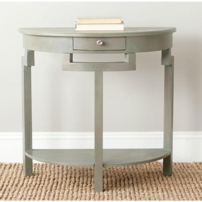 Liana French Grey Storage Console Table