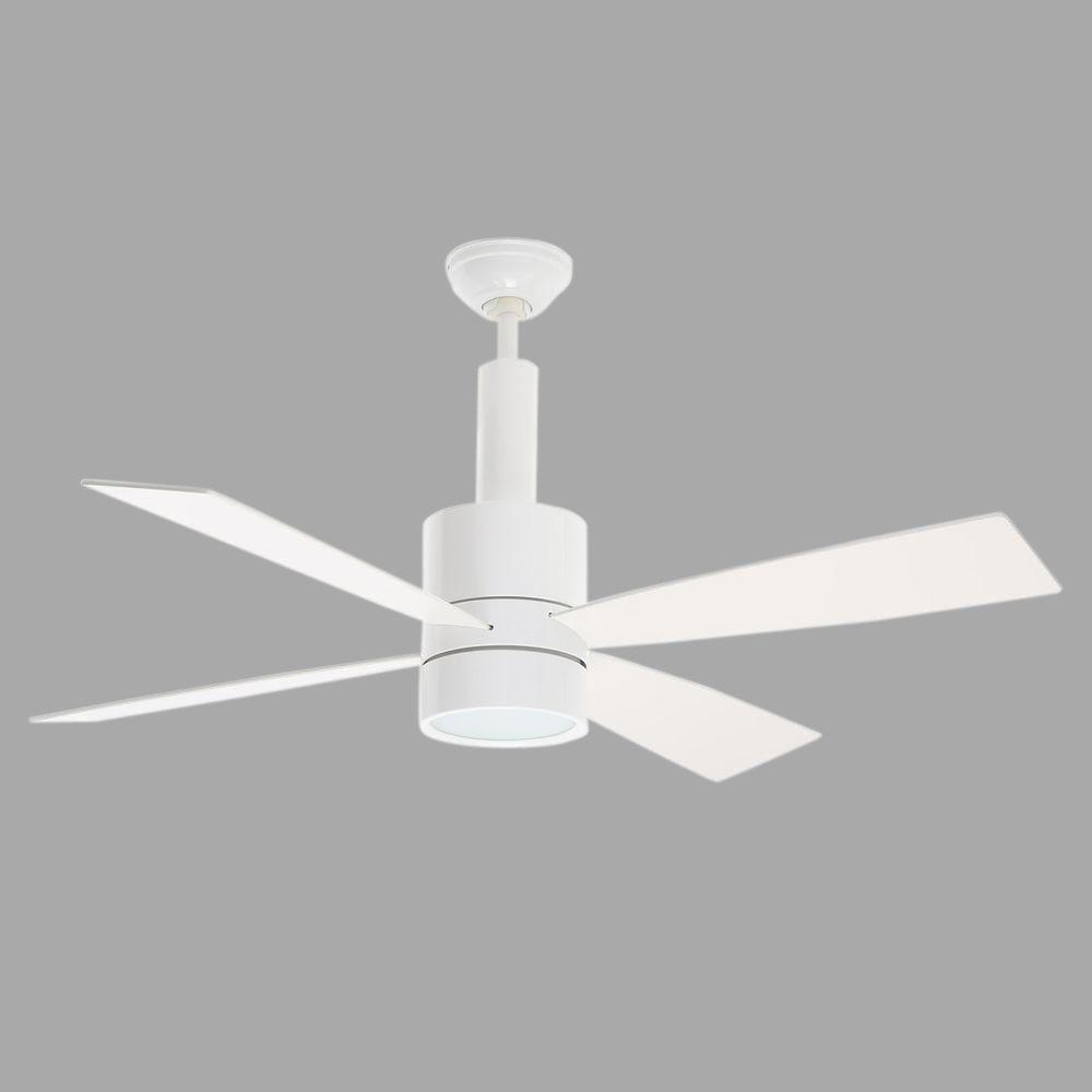 Casablanca bullet 54 in indoor brushed nickel ceiling fan with casablanca bullet 54 in indoor brushed nickel ceiling fan with universal wall control 59068 the home depot mozeypictures Choice Image