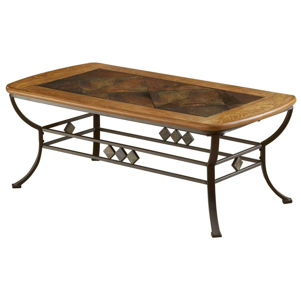 Hillsdale Furniture Lakeview Brown Coffee Table