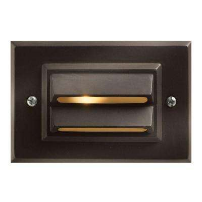 Low-Voltage 12-Watt Bronze Horizontal Outdoor Deck Light