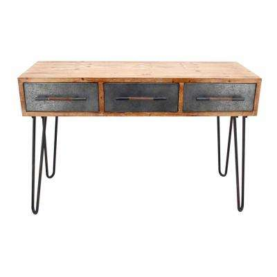 Metal Antique Console Table - Antique - Entryway Tables - Entryway Furniture - The Home Depot