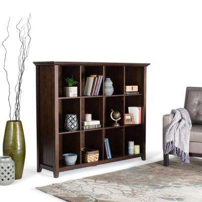 Acadian Tobacco Brown Open Bookcase