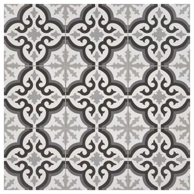 Modern Renewal Morocco 12 in. x 12 in. Glazed Porcelain Floor and Wall Tile (14.55 sq. ft. / case)
