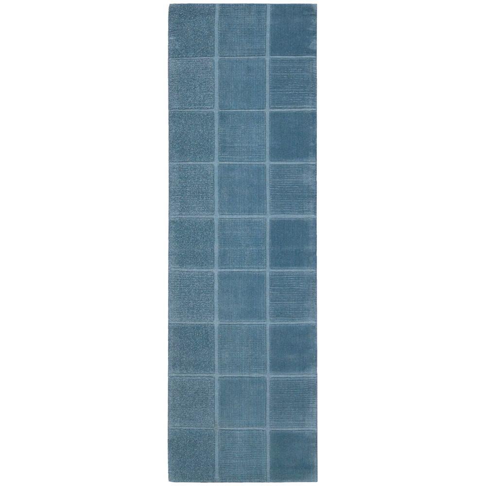 Nourison Westport Blue 2 ft. 3 in. x 7 ft. 6 in. Rug Runner