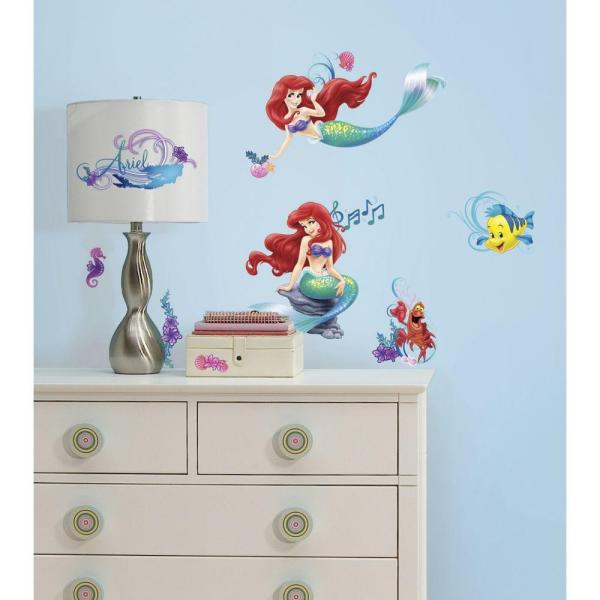 RoomMates 5 in. x 11.5 in. The Little Mermaid Peel and
