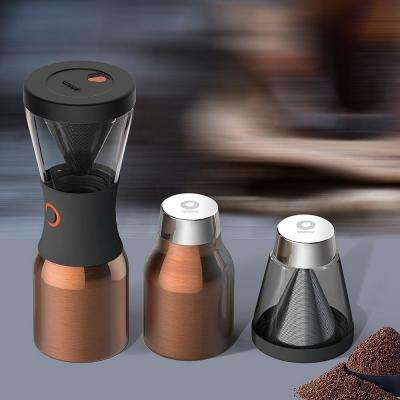 40 oz. Copper Stainless Steel Cold Brew Coffee Maker