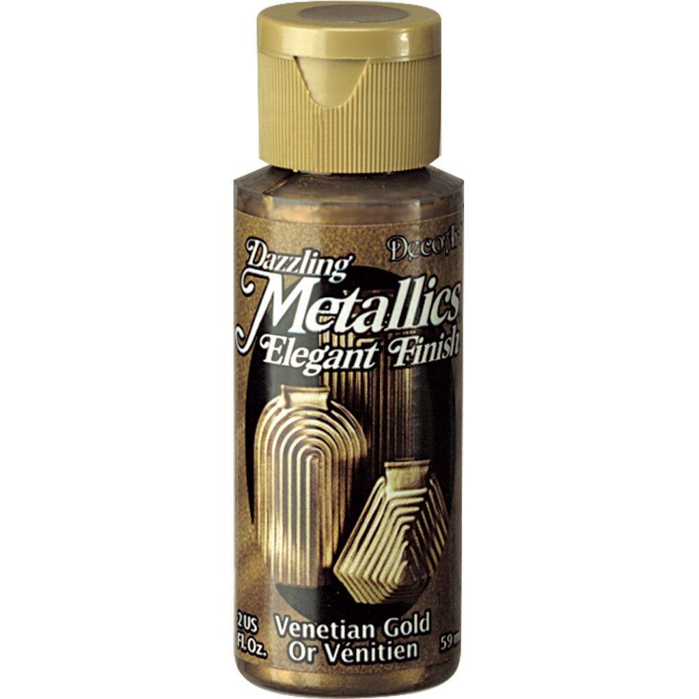 Dazzling Metallics 2 oz. Venetian Gold Acrylic Paint