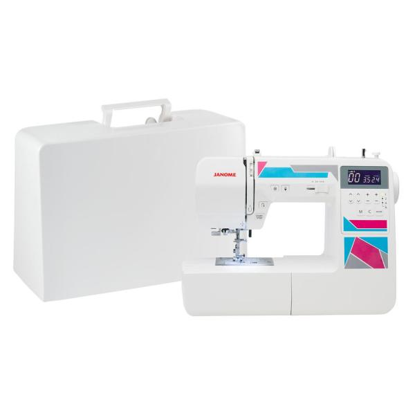 Janome MOD-200 Computerized Sewing Machine with 200-Stitches and Memory 00181200DC