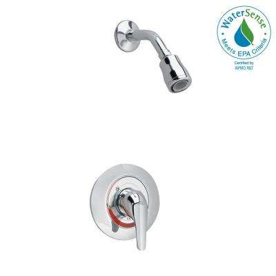 Colony Soft 1-Handle Shower Faucet Trim Kit in Polished Chrome (Valve Sold Separately)