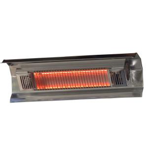 Wonderful 1,500 Watt Stainless Steel Wall Mounted Infrared Electric Patio Heater. Fire  Sense ...