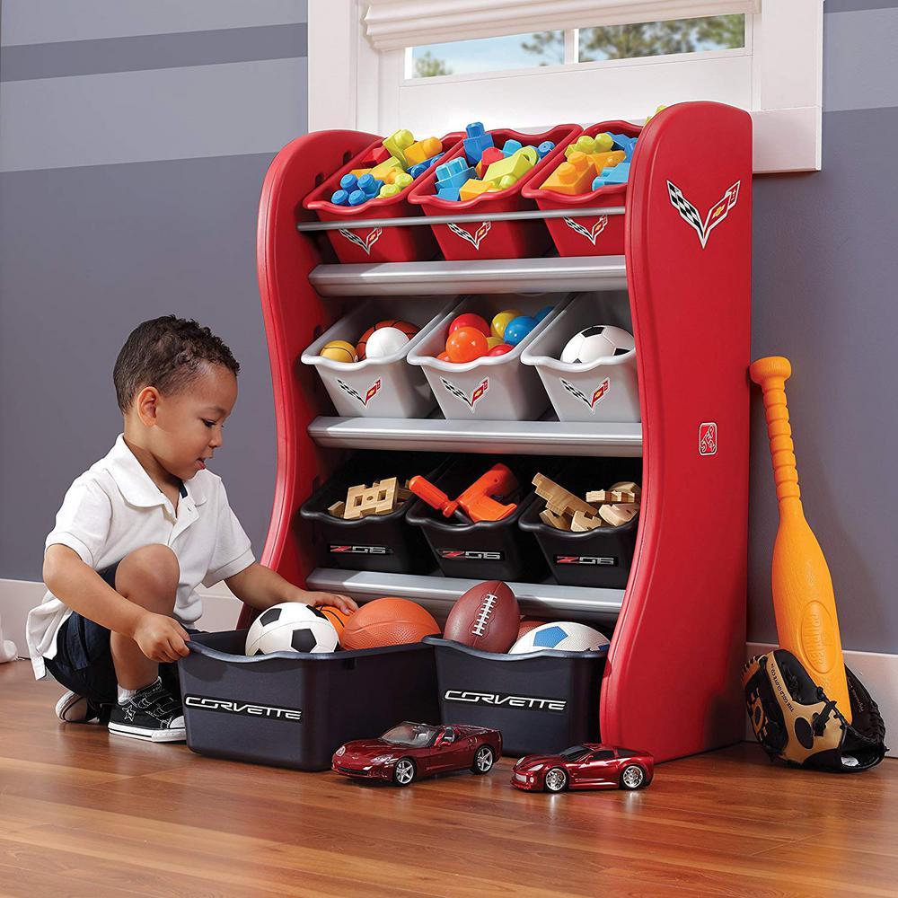 Step 2 Red Organizer Kids Box