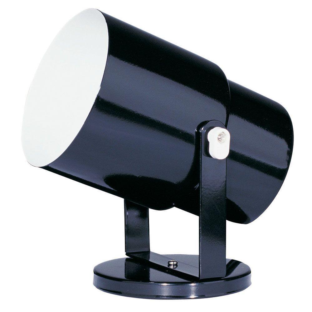 Catherine 1 light 7.5 in. Black Spot Light