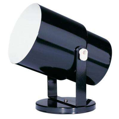Catherine 1 light 7.5 in. Black Spot Light