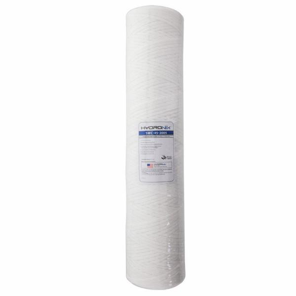 SWC-45-2005 4.5 in. x 20 in. 5 Micron String Wound Filter