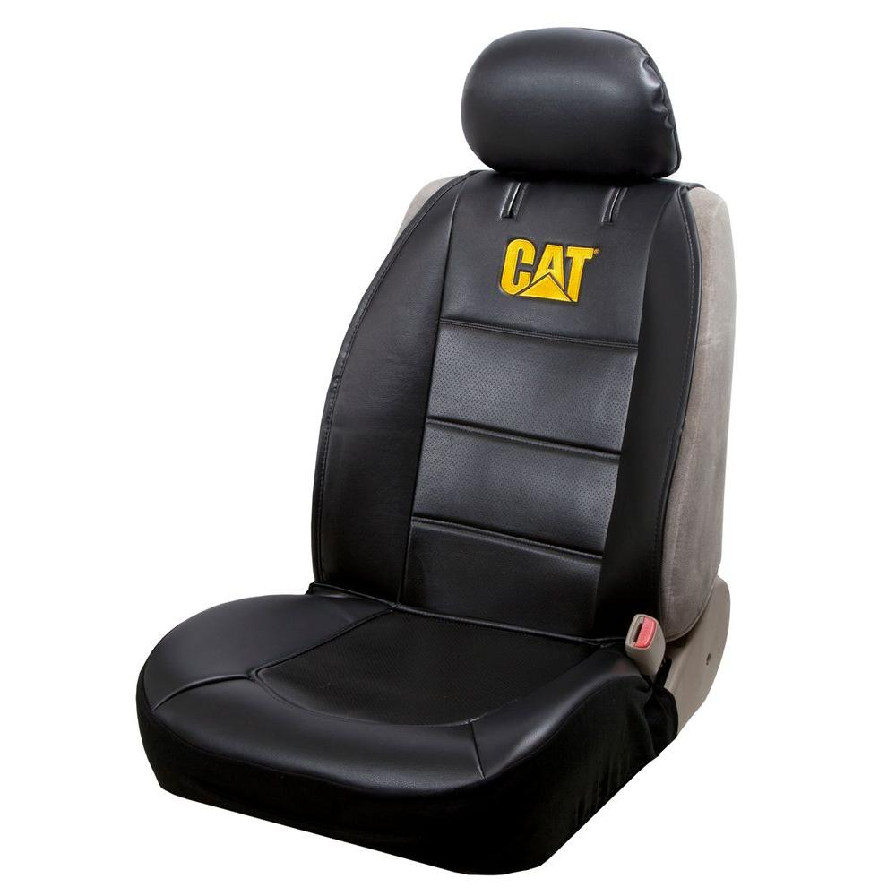 null Caterpillar Sideless Seat Cover