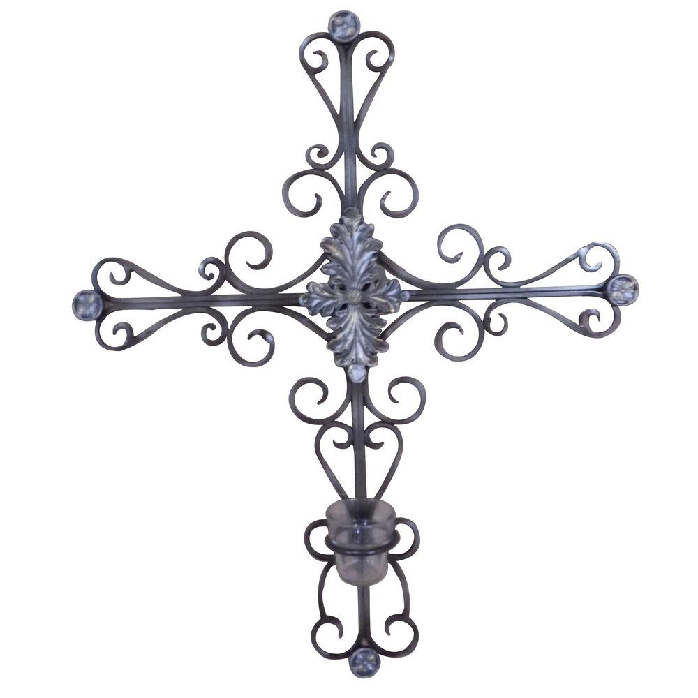 Yosemite Home Decor 27 in. x 23 in. Iron Decor Accent Wall Hanging-DISCONTINUED