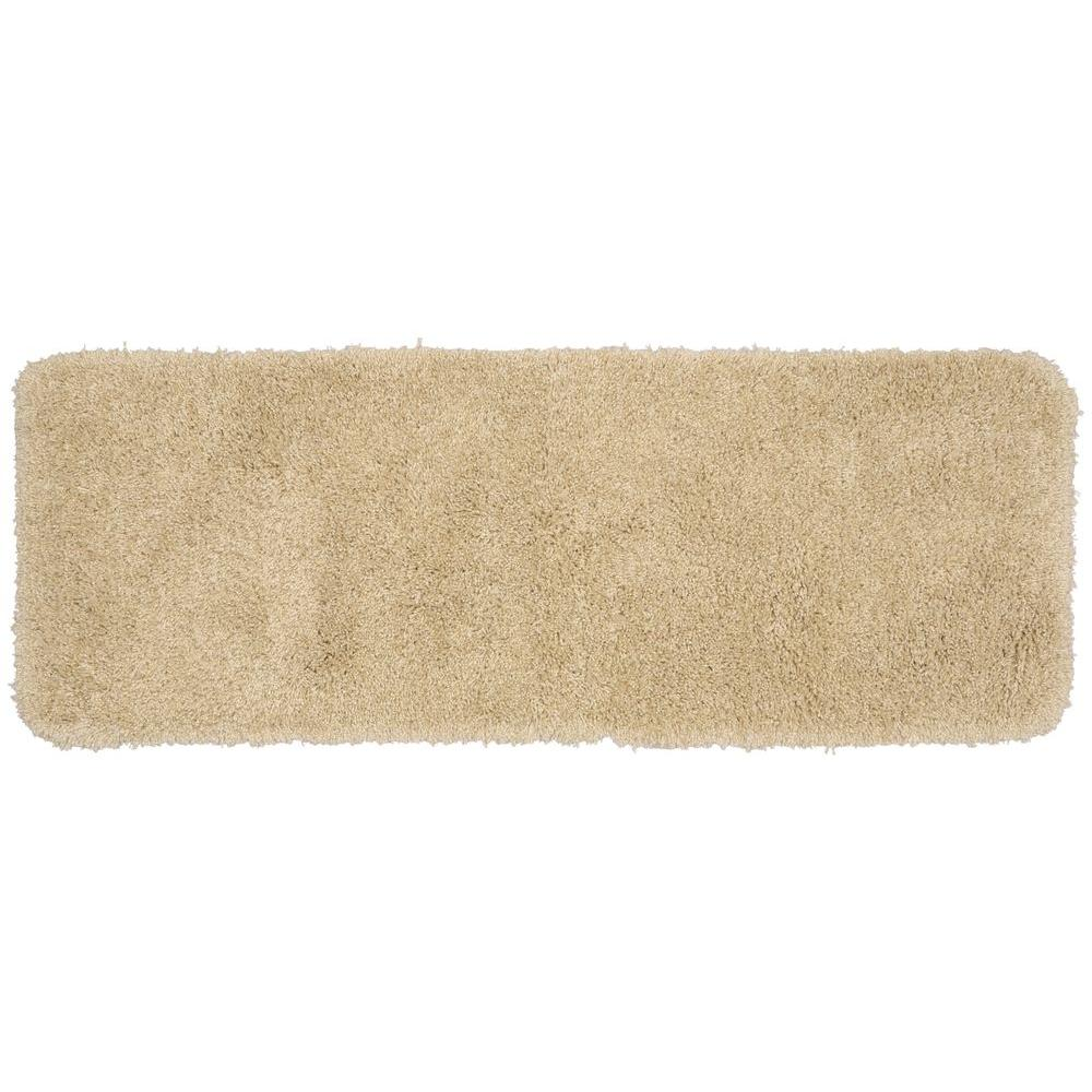 Garland Rug Serendipity Linen 22 in. x 60 in. Washable ...
