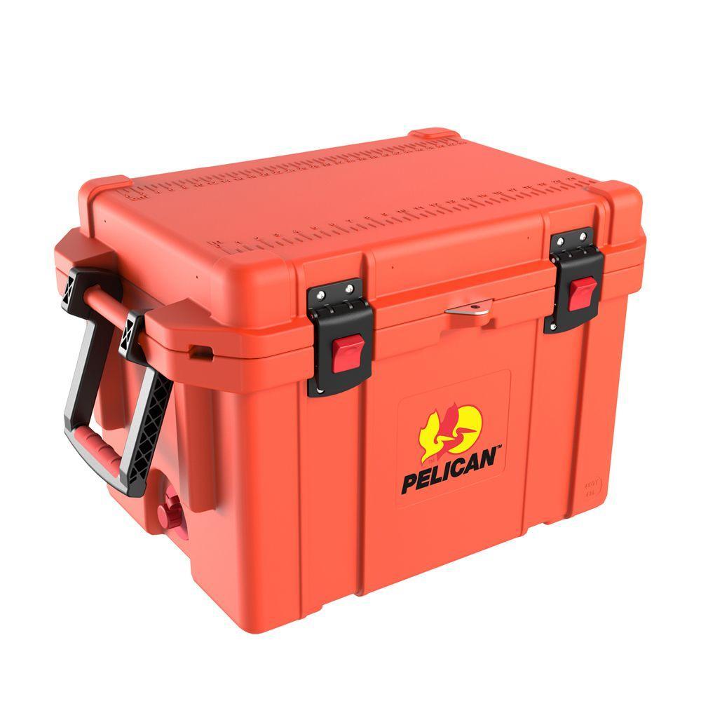 Pelican ProGear 35 Qt. Orange Elite Marine Cooler